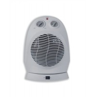 Image for Heatrunner Fan Heater Oscillating with Safety Cut-out 3 Settings 800W 1200W 2000W Ref NFD20