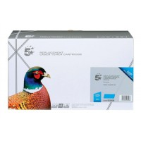 5 Star Compatible Laser Toner Cartridge Page Life 4000pp Cyan [HP No. 502A Q6471A Alternative]