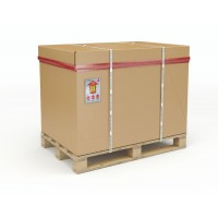 Image for 1/1 Full Euro Palletised Container 1170 x 770 x 660mm Pallet/Cap/Sleeve/Tray