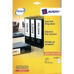 Avery Eurofolio File Label 134x11mm 25 Sheets (600 Pack) L7170-25