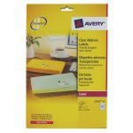 Avery Clear Laser Label Mini Address Pack of 25 L7551-25