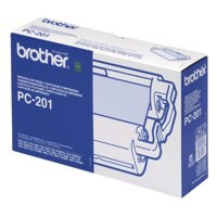 Image for Brother Thermal Transfer Ribbon Cartridge and Refill PC201