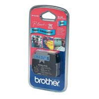 Image for Brother P-Touch Tape 9mm Black/Blue MK521BZ