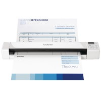 Image for Brother White DS-7820W Wireless Portable Document Scanner DS820WZ1