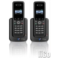 Image for BT 1000 DECT Telephone Twin Black 066855
