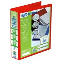 Image for Elba A4 4D-Ring 50mm Red Panorama Binder