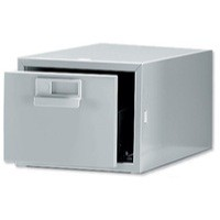 Image for Bisley Grey Card Index Cabinet 8x5in SGL