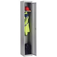 Image for Bisley 1 Door Locker 305x457x1802mm Goose Grey