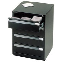 Image for Bisley Media Storage Cabinet Black MS4E