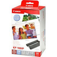 Image for Canon SELPHY Colour Ink/Paper Set For CP Series 4x6in (108 Photos) KP-108IN