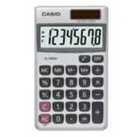 Image for Casio Pocket Calculator 8-digit SL-300V-S-GH