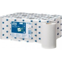 Image for Kruger Mini Centre Feed Hand Wiper Dispenser Refill 120 Metre White C1W120