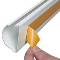 Image for D-Line cable tidy strips 3x 420mm White eu/pp420mxd3w