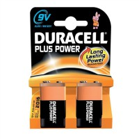 Image for Duracell Battery Plus 9V Pack of 2 15035023 15037876