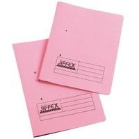 Image for Acco Eastlight Breast Cancer Campaign Jiffex File Foolscap Pink 43217EAST