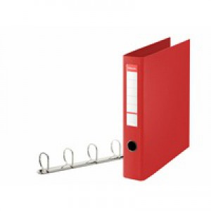 Esselte 4D-Ring Binder A4 40mm Red 82403
