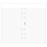 Image for Filofax A5 Ruled Paper White 343008