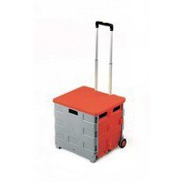 Image for GPC Folding Box Truck with Lid Grey/Red
