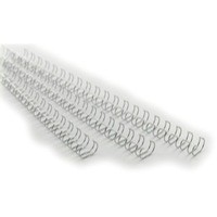 Image for Acco GBC A4 11mm 34-Loop Wires 3:1 Pitch Silver Pack of 100 RG810797