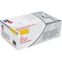 Image for HPC Healthline Wht Nitrile Exam Sm Glove