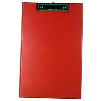 Image for Rapesco Red Foldover Clipboard A4/FC
