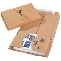 Image for Brown 251x165x60mm Mailing Box Pk20