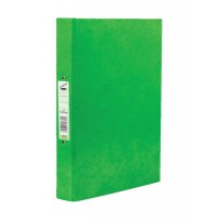 Image for Concord Contrast A4 Laminated Ring Binder Lime 82195