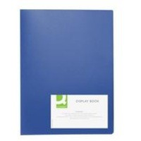 Image for Q-Connect 40 Pocket Blue Display Book