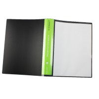 Image for Q-Connect Black 40 Pkt Pres Display Book