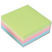 Image for Q-Connect Pastel Quick 76x76mm Note Cube