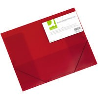 Image for Q-Connect Elasticated Folio A4 Red