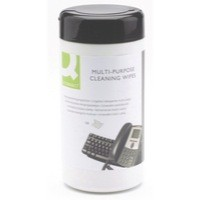 Image for Q-Connect Telephone Wipes Pack of 100