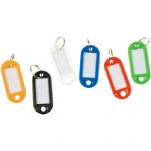 Q-Connect Key Hangers Assorted Pk 100 KF10869