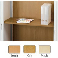 Image for Arista Adjustable Wooden Shelf Maple