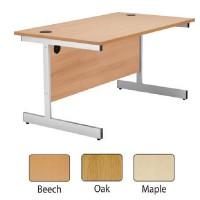Image for Jemini 1200mm Cantilever Rectangular Desk Oak