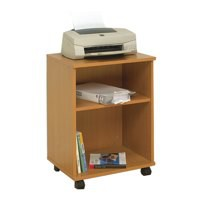 Image for Jemini Mobile PC Printer/Storage Stand Beech