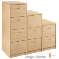Image for 2Drw Filing Cabinet - Beech