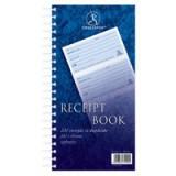 Challenge Duplicate Receipt Book Wirebound 4 Sets per Page 200 Receipts 280x152mm Code