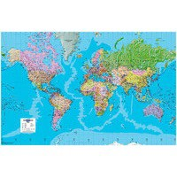 Image for Map Marketing World Political Laminated Map BEX