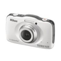 Image for Nikon White Coolpix S32 Waterproof Digital Camera VNA580E1