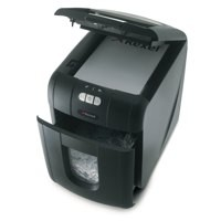 Image for Rexel Auto Plus 100 Shredder Black Cross-Cut 2102559