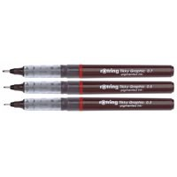 Image for Rotring Tikky Graphic Technical Drawing Pen Blister of 3 S0814890