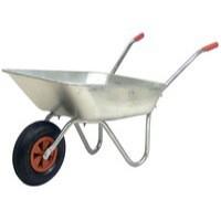 Image for Medium Duty Wheelbarrow Silver 379991