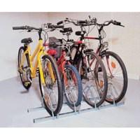Image for Cycle Rack 4-Bike Capacity Aluminium 309714