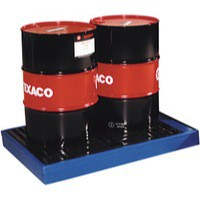 Image for Flooring Sump Poly 2 Drum Capacity Blue 323360