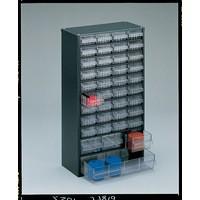 Image for Dk.Grey Storage Cabinet 40 Drawer 324171
