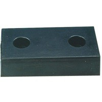 Image for H/Duty Rect Type 2-2 Hole Dock Bumper