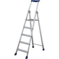 Image for 10 Rib Tread Platform Step Ladder Alum