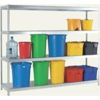 Image for Orange/Zinc Galv 1800x600mm Extra Shelf
