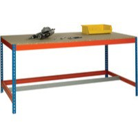 Image for Blue/Orange L1800xW900xD900mm Workbench